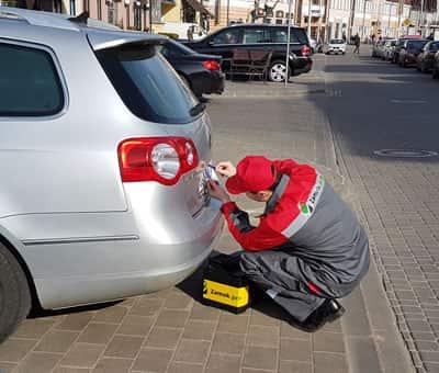 открывание багажника авто