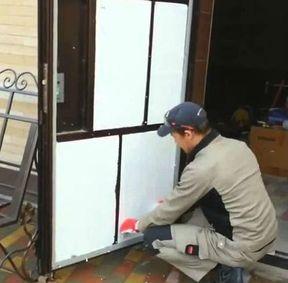 Шумоизоляция металлических дверей мастерами службы zamok.pro